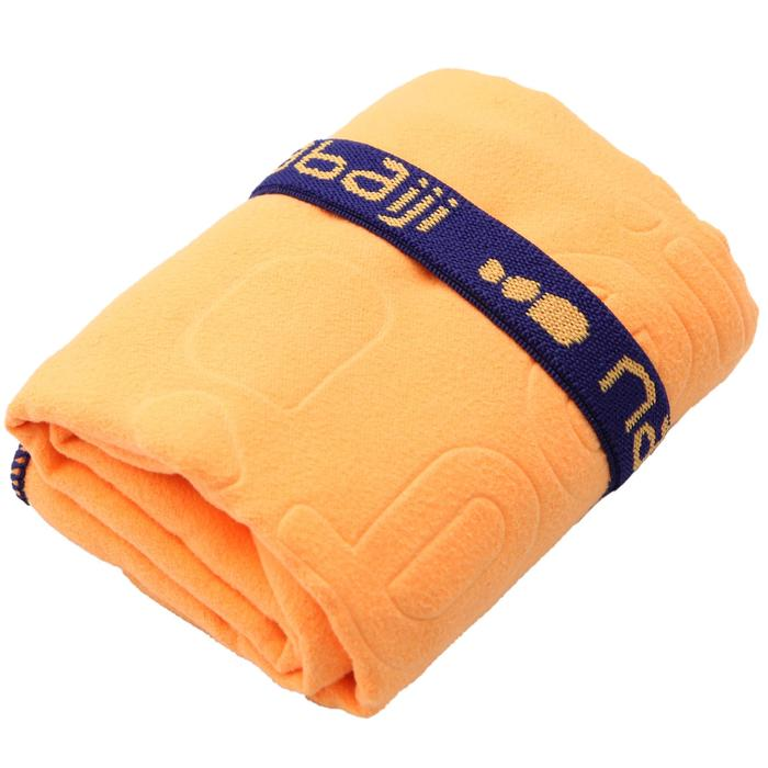 Ultra-Compact Microfibre Towel Size S 42 x 55 cm - Light Orange