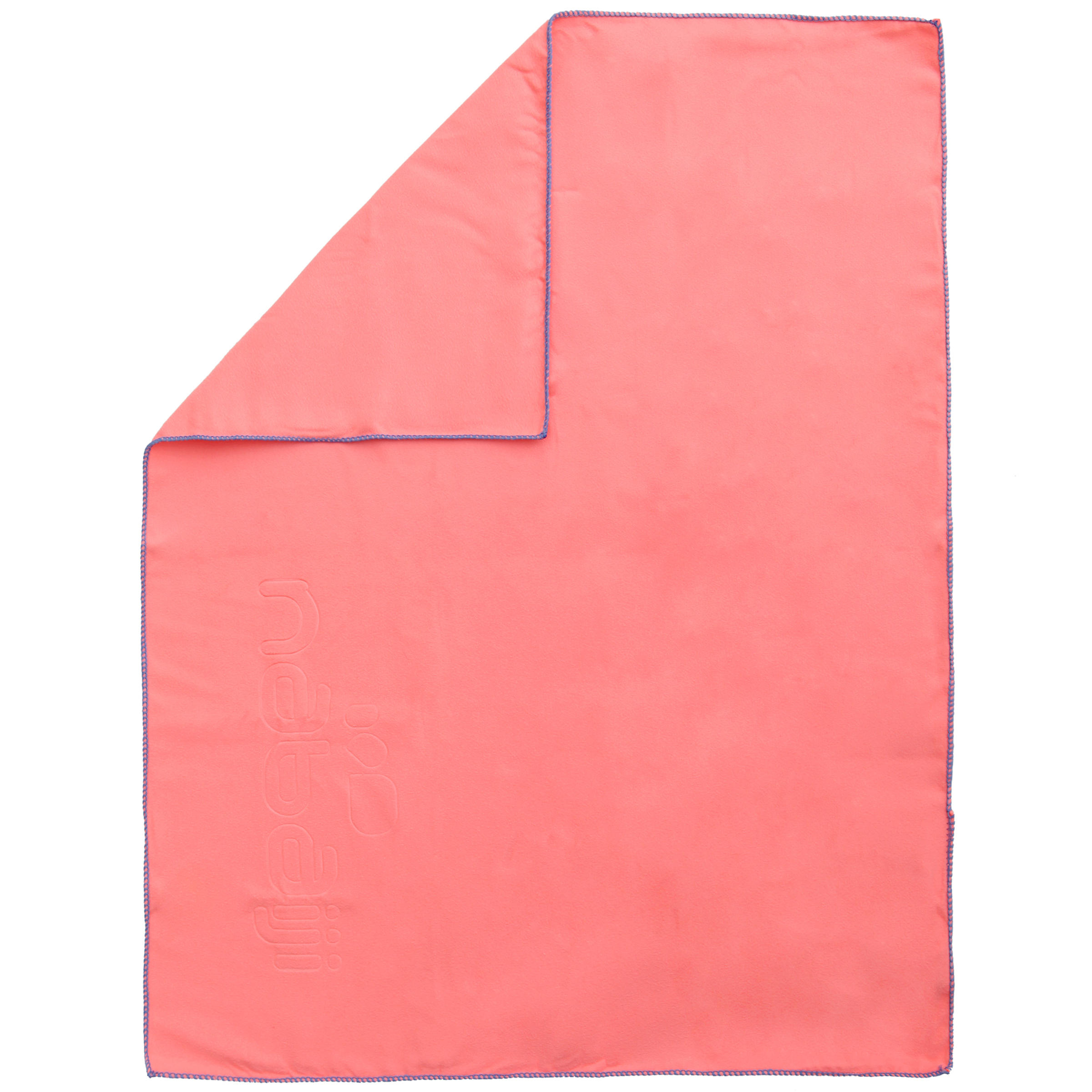 Ultra-Compact Microfibre Towel Size S 42 x 55 cm - Light Pink