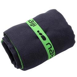 極輕便微纖維毛巾M號65 x 90 cm 深藍色