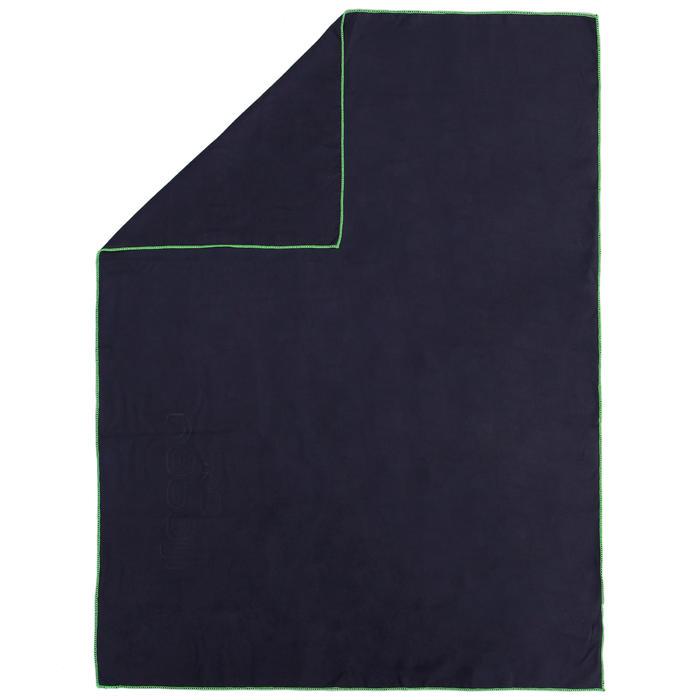 Microfibre towel M blue