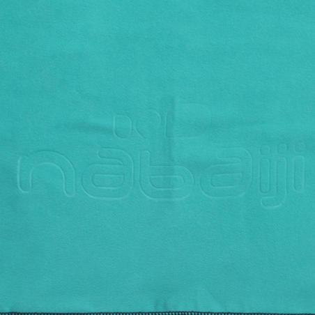 Serviette microfibre  ultra compacte taille M 65 x 90 cm bleu