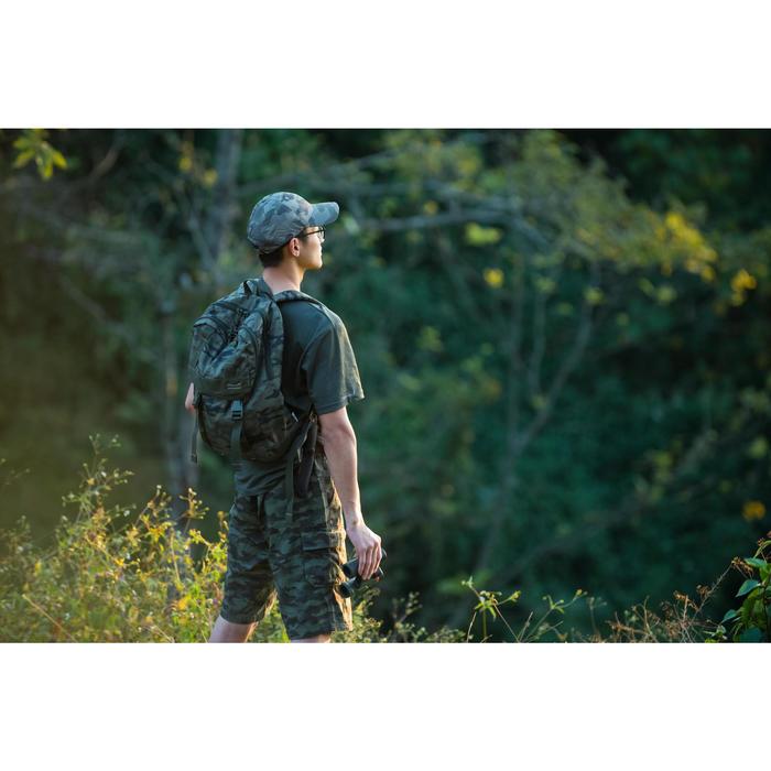 500 Camouflage hunting Bermuda half tone green - 1355628
