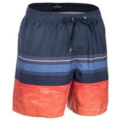 Boardshort Hombre MIX N'STRIPES naranja