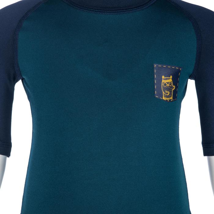 tee shirt anti UV shorty surf manches courtes bébé - 1355636