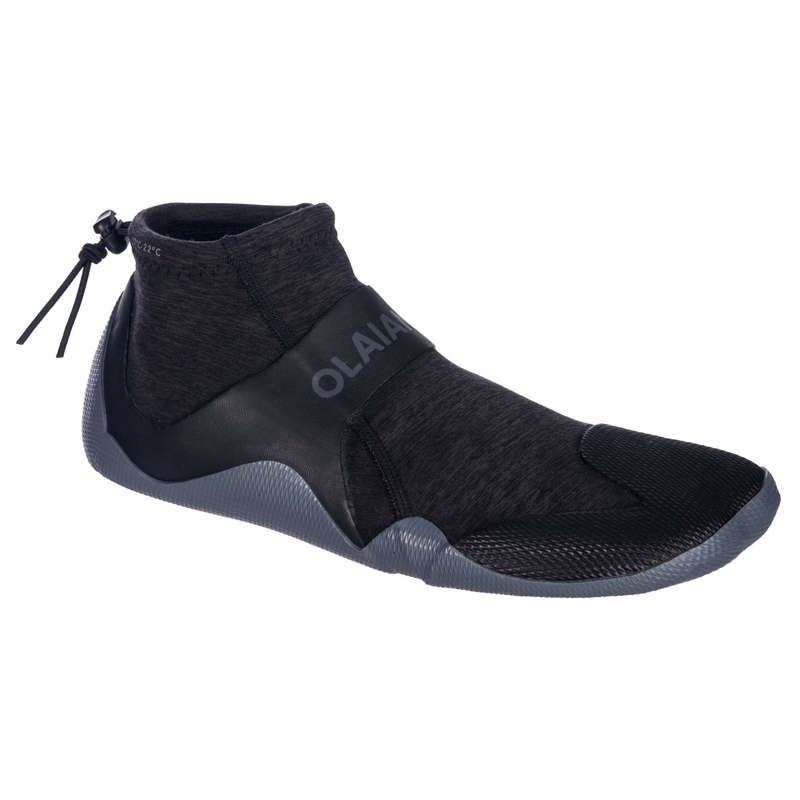 TEMPERED WATER ACCESSORIES Clothing  Accessories - Surf 2mm Neoprene Low Boot 500 OLAIAN - Clothing  Accessories