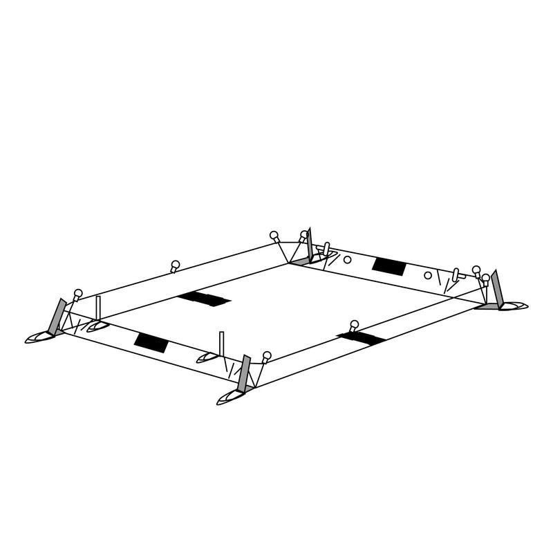 Pavimento gazebo AIR SECONDS BASE XL