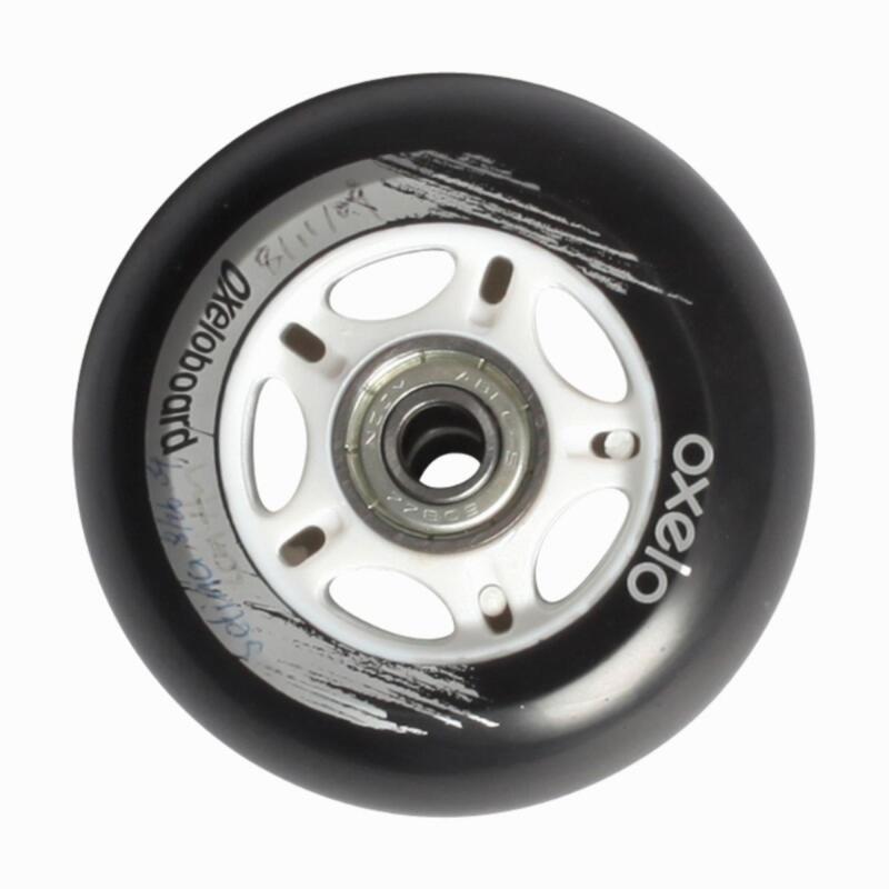Pair Wheels + Bearings - Oxelo Board