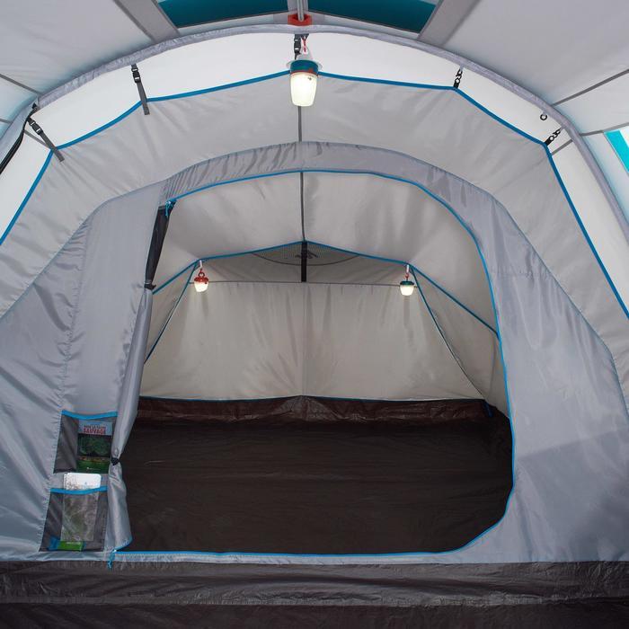 Slaapcompartiment en geïntegreerd grondzeil voor Quechua-tent Air Seconds 4.1 XL