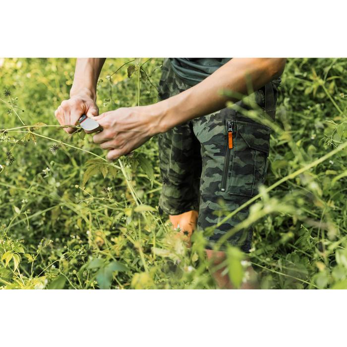 500 Camouflage hunting Bermuda half tone green - 1355890