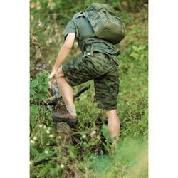百慕達狩獵短褲500迷彩半色調-綠色