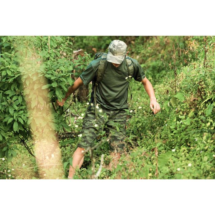 500 Camouflage hunting Bermuda half tone green - 1355899