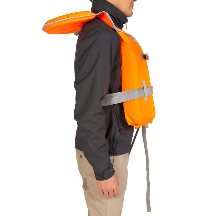 Chaleco Salvavidas Barco Vela Tribord LJ 100N Adulto Naranja Espuma