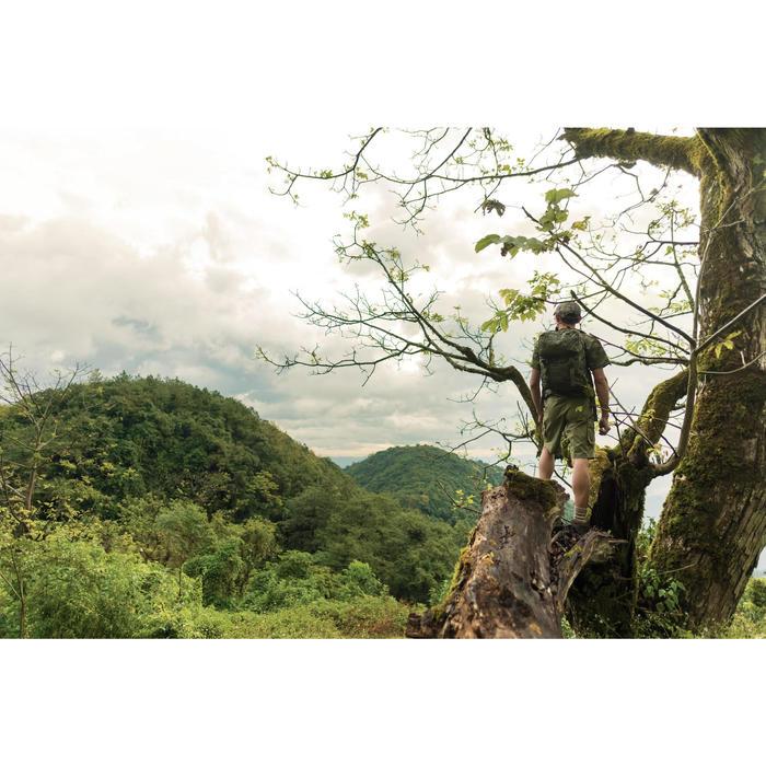 500 Camouflage hunting Bermuda half tone green - 1356477