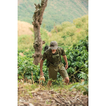 500 Camouflage hunting Bermuda half tone green - 1356481