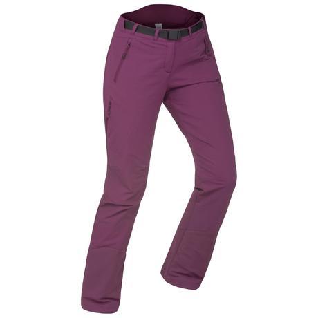 d03ed467cc6 Pantalon de randonnée neige femme SH500 x-warm stretch violet