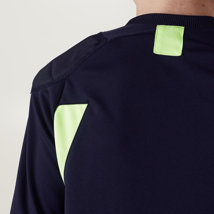 Camiseta Manga Larga Portero Fútbol FGKSLS100 Niño Negro