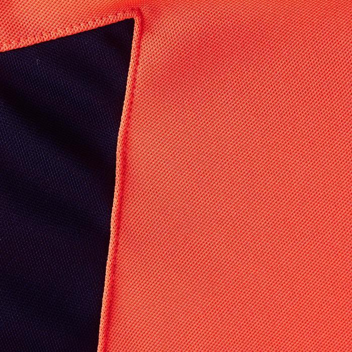 Camiseta Manga Larga Portero Fútbol FGKSLS100 Niño Rojo