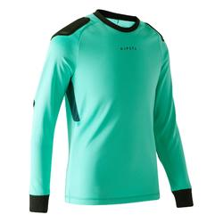 Camiseta de portero F100 júnior verde