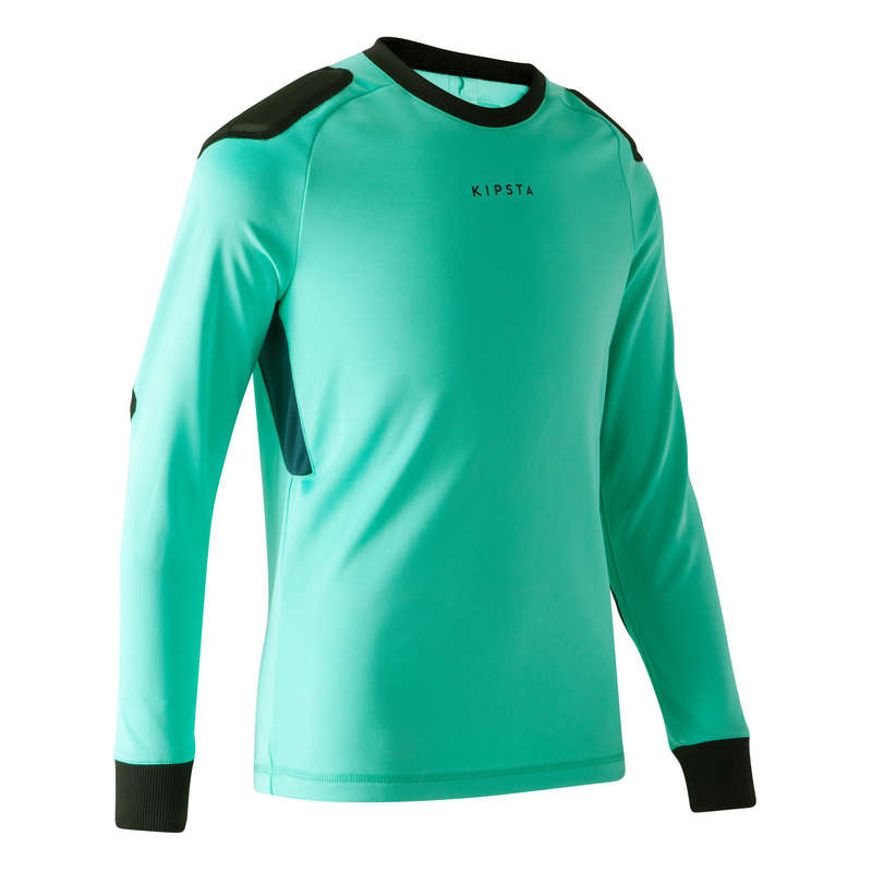 Echipament portar fotbal Fotbal - Bluză Fotbal F100 Verde Copii KIPSTA - Fotbal