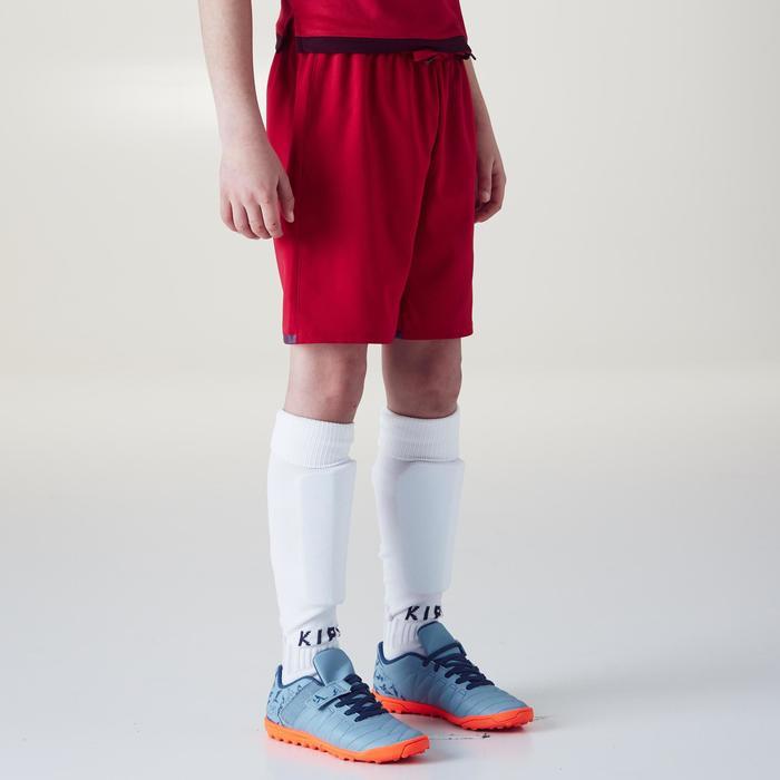 Short de football F500 fille rose - 1356605