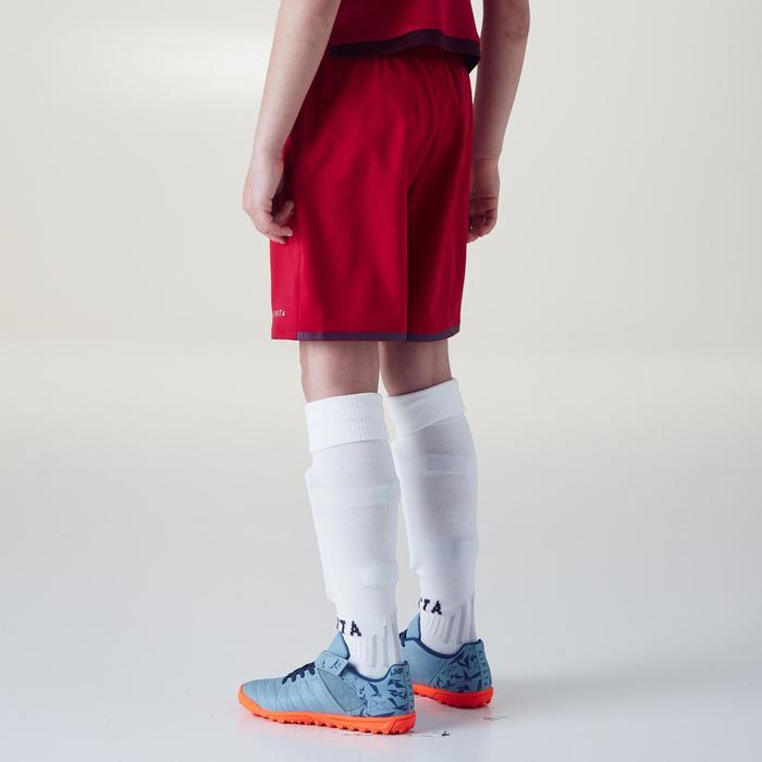 Short de football F500 fille rose - 1356606