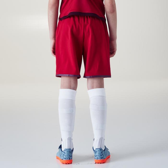 Short de football F500 fille rose - 1356607