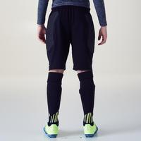 F100 Kids' Goalkeeper Shorts - Black