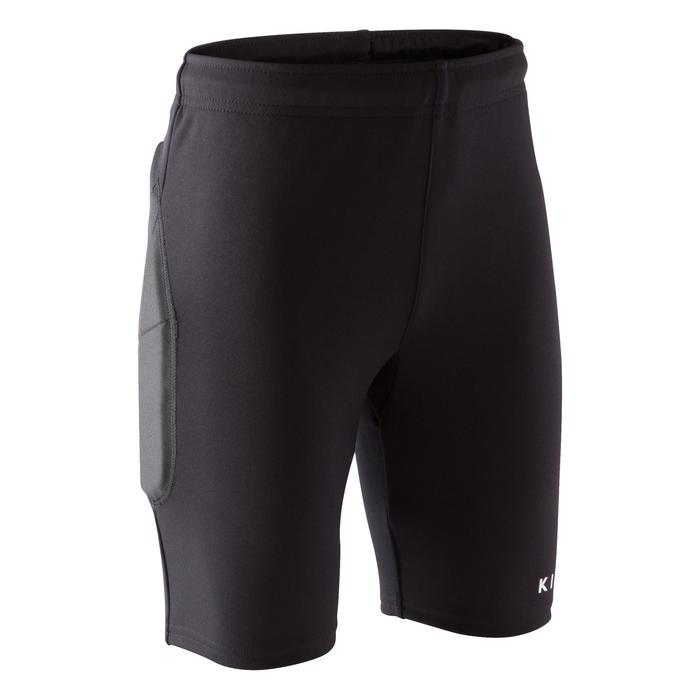 Short gardien de but enfant F100 noir