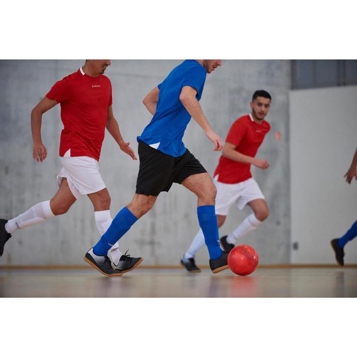 Hallenschuhe Futsal Fußball Agility 100 Sala Erwachsene schwarz/gelb