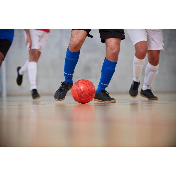 成人款室內五人制硬地足球鞋AGILITY 100 SALA-黑色