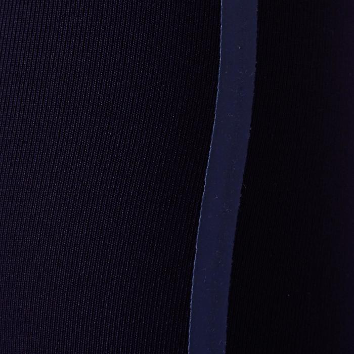 Mallas Térmicas Largas Transpirables Kipsta KDRY100 Niño Negro Azul