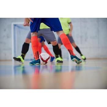 Ballon de Futsal 500 Hybride 63 cm blanc - 1356650