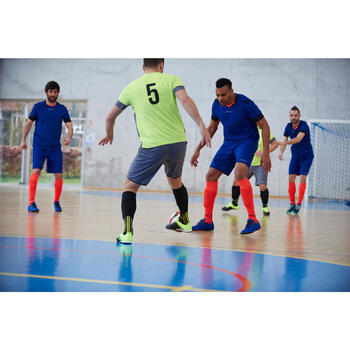 Chaussure de futsal adulte Agility 500 bleue - 1356651