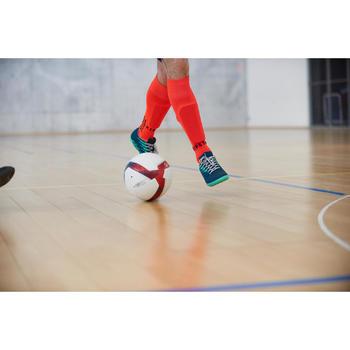Ballon de Futsal 500 Hybride 63 cm blanc - 1356652