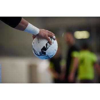 Ballon de Futsal 900 63cm blanc et gris