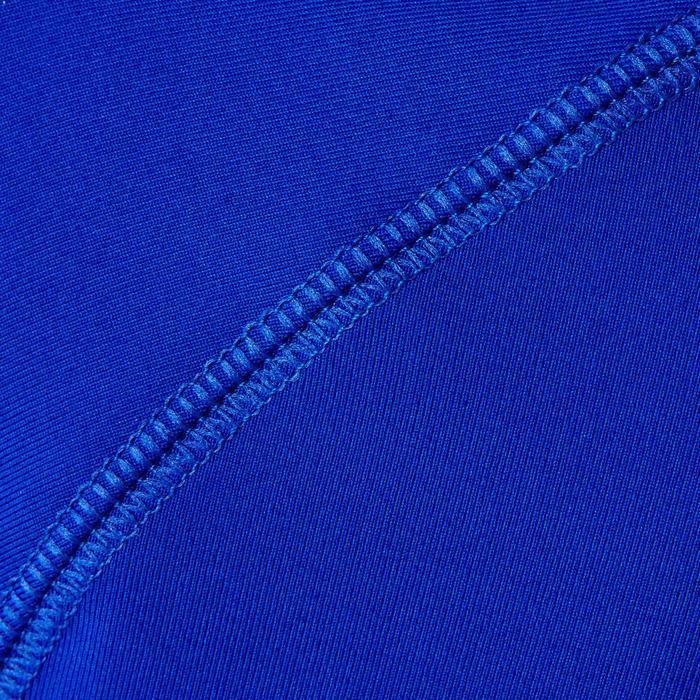 Sous maillot respirant manches longues enfant Keepdry 100 scapulaire bleu
