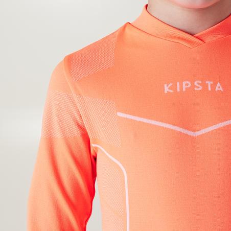 Keepdry 500 Kids' Base Layer - Neon Orange