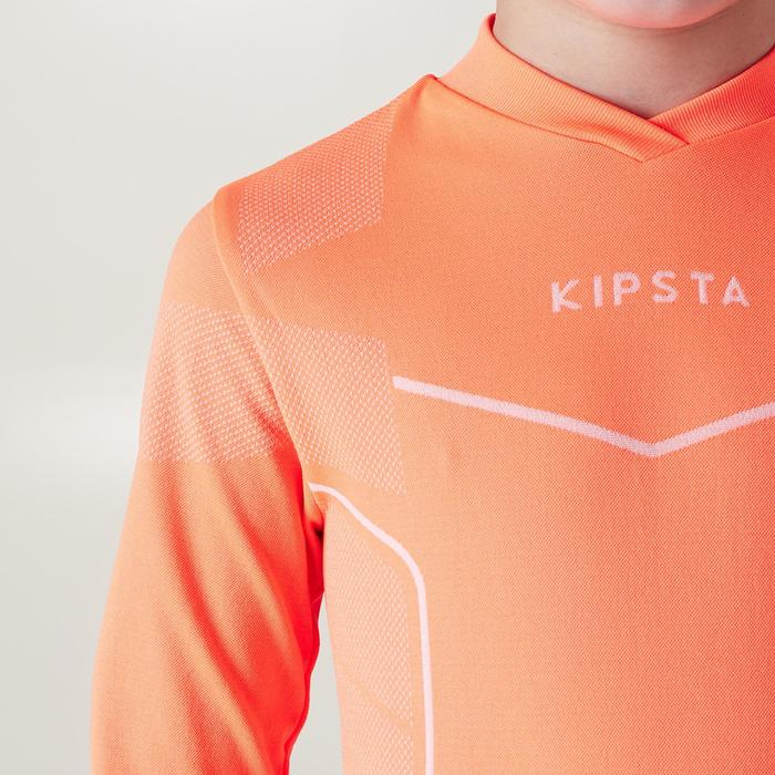 Funktionsshirt Keepdry 500 atmungsaktiv Kinder neonorange