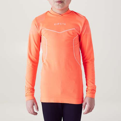 en-gros online en-gros online cea mai recentă Bluză Fotbal Keepdry 500 Portocaliu Fluorescent Copii KIPSTA ...