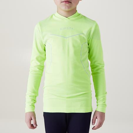 Keepdry 500 Kids' Base Layer - Neon Yellow