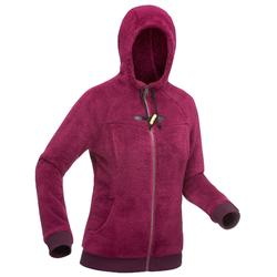 Fleecejacke Winterwandern SH100 Ultra-Warm Damen