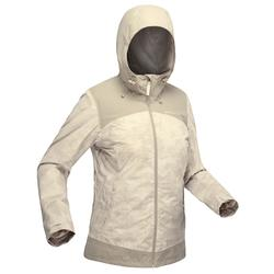 SH100 X-Warm Women's Snow Hiking Jacket-Beige