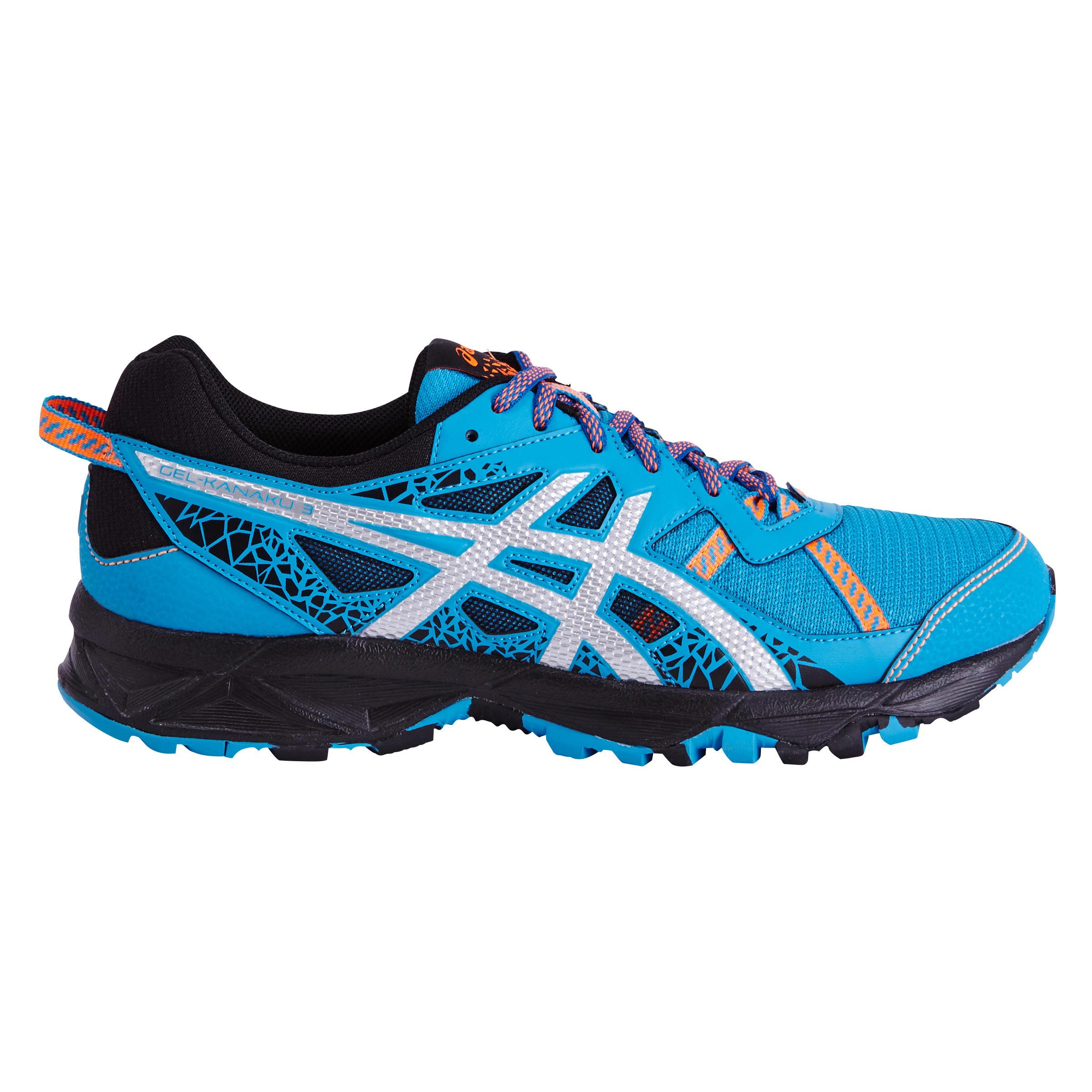 Asics Trailschoenen voor heren Asics Gel Kanaku 3 blauw