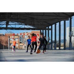 Fußball Futsal Wizzy Schaumstoff Größe 4 orange/schwarz