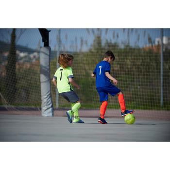 Chaussure de futsal enfant Agility 500 bleue à scratch - 1356830
