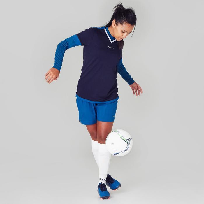 Maillot de football femme F500 menthe - 1356846