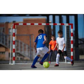 Balón de Fútbol Sala Kipsta 100 híbrido talla 58 cm amarillo