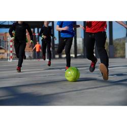 Futsalball Hallenfußball 100 Hybrid 58 cm gelb