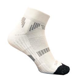 低筒籃球襪500(2雙入)-白色