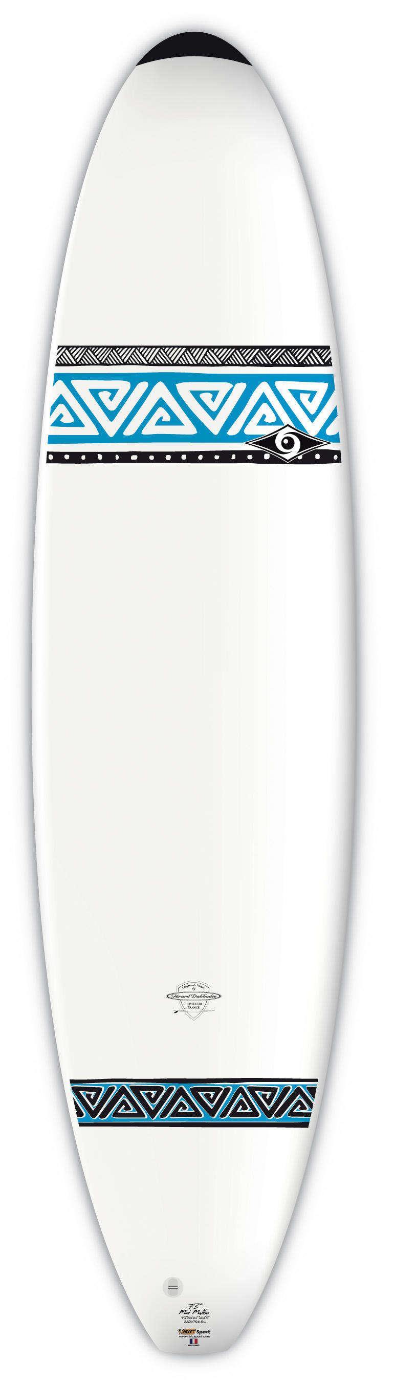 SURFOVACÍ PRKNO POKROČILÍ Surfování a bodyboard - SURF BIC 7'3 BIC SPORT - Surfy a příslušenství
